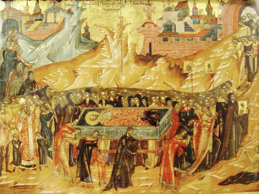 Престольный праздник Перенесения мощей святителя Николая из Мир Ликийских в Бари