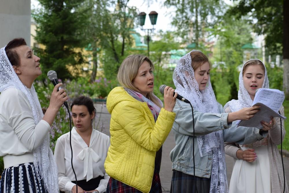 Праздник «Все начинается с любви» в Гребнево
