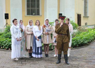 Концерт учеников воскресной школы, посвященный Великой Отечественной войне