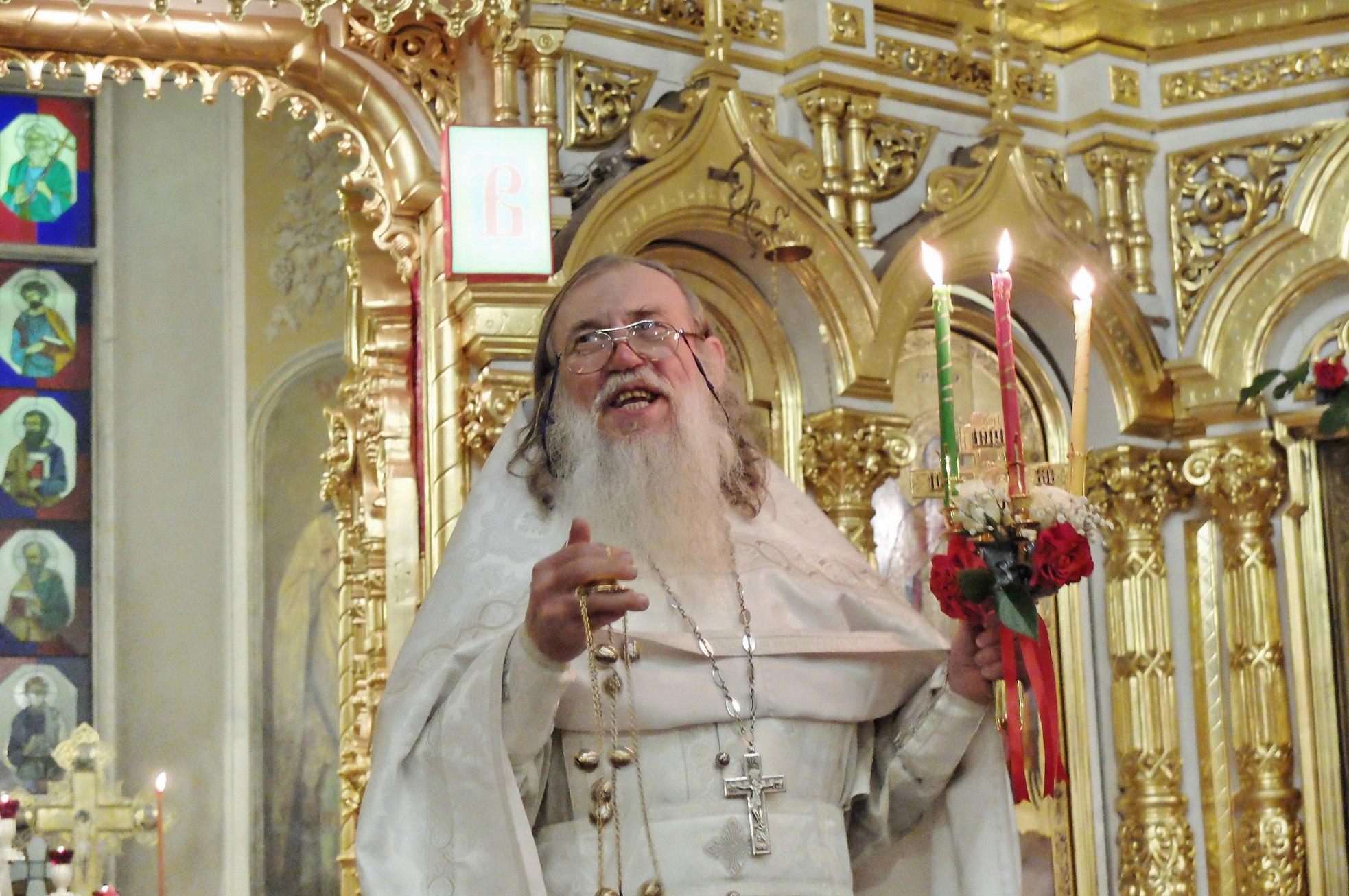 Памяти отца Александра Рождествина