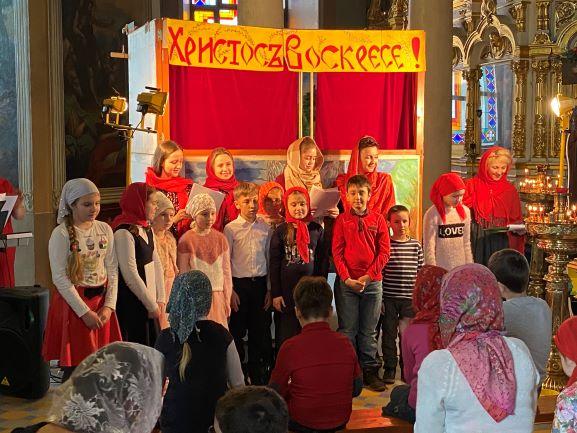 Пасхальный концерт детской воскресной школы