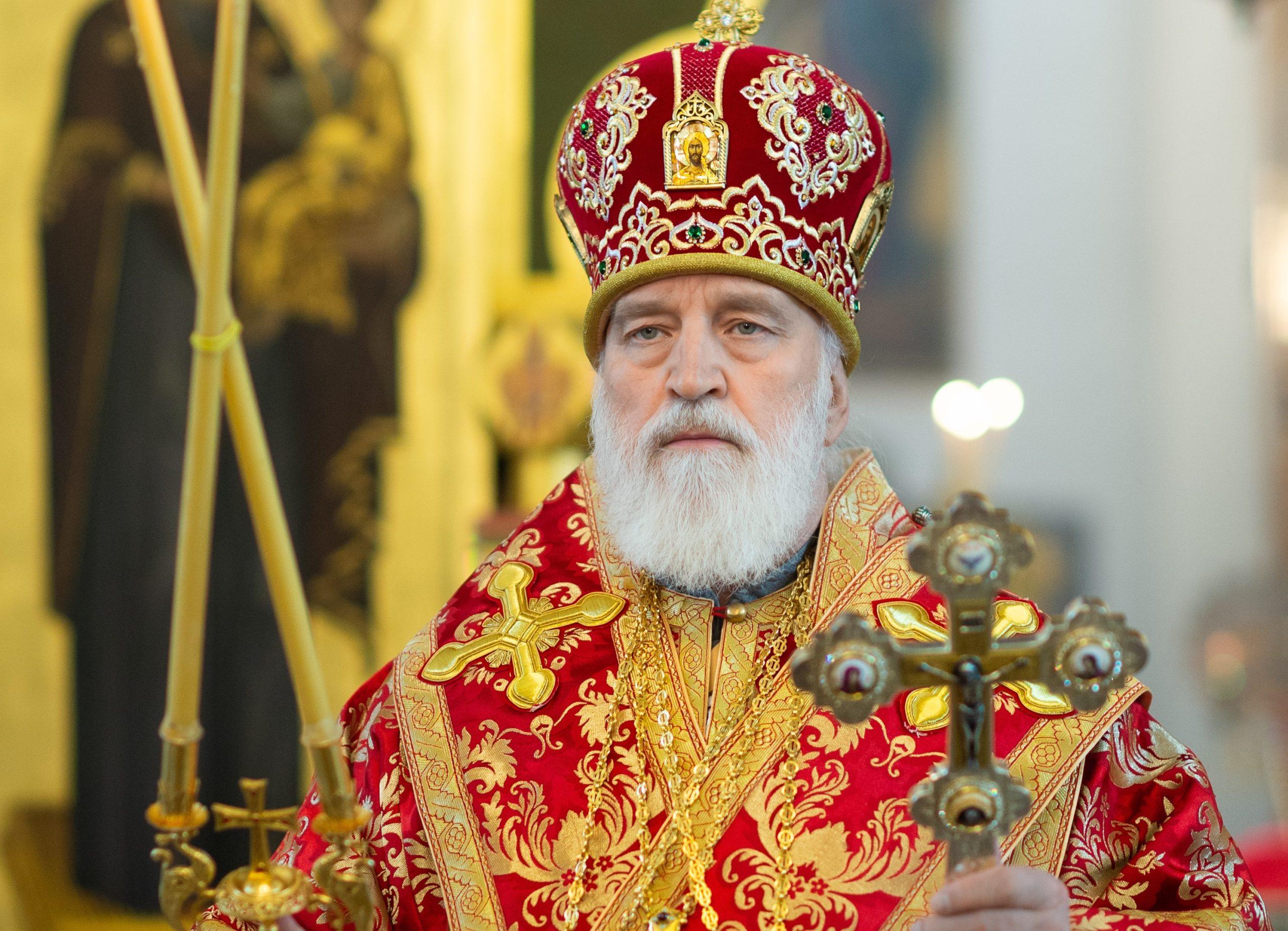 Пасхальное послание митрополита Крутицкого и Коломенского Павла, Патриаршего наместника Московской митрополии