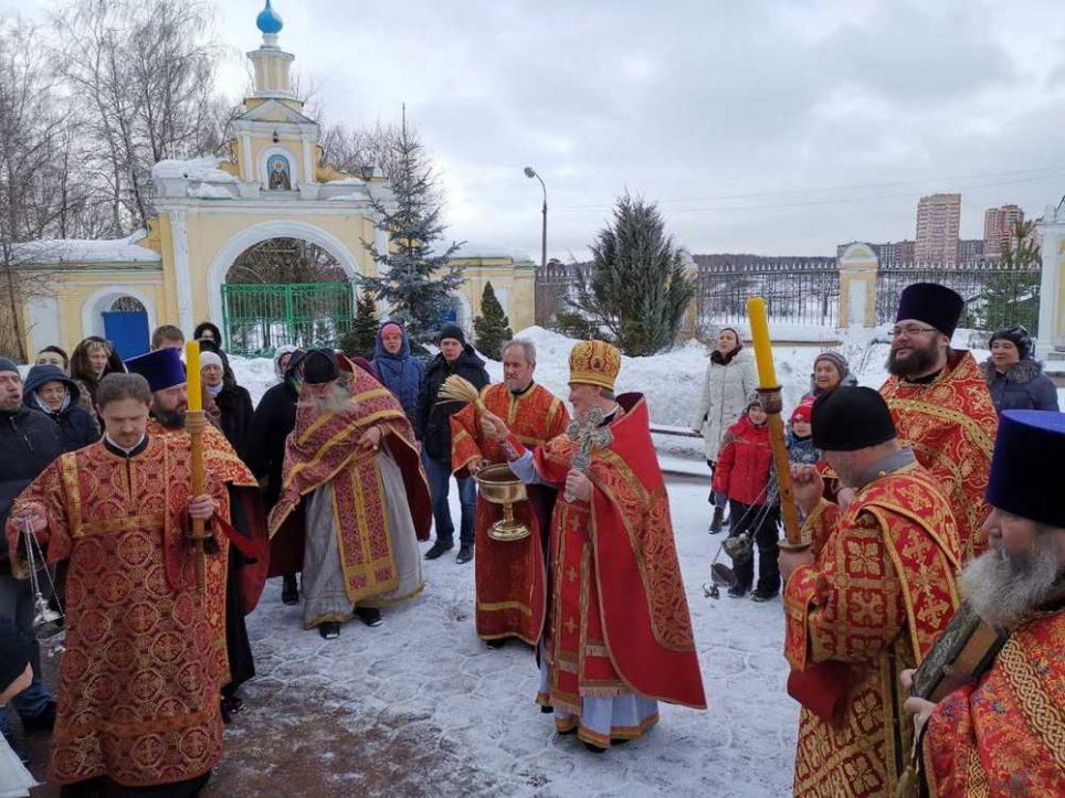 Престольный праздник вмч. Феодора Стратилата
