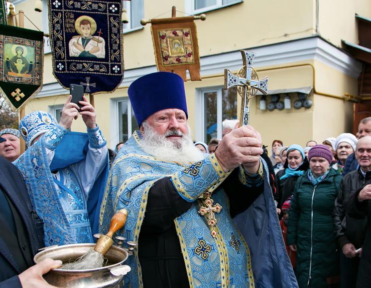 Преставился ко Господу протоиерей Владимир Александров