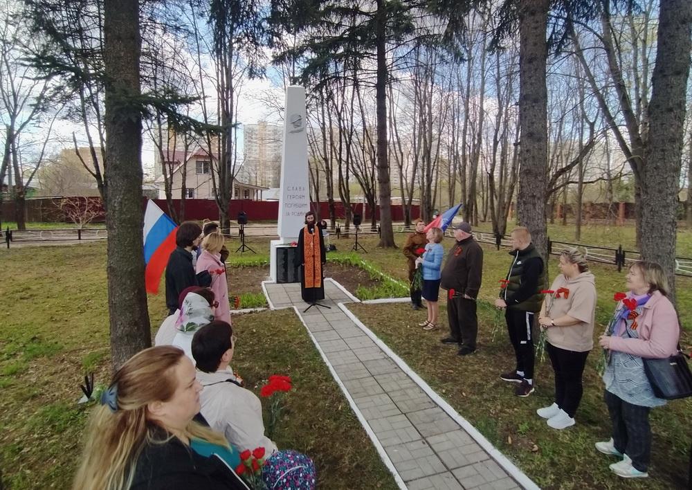 Праздничные мероприятия к 9 мая в д. Гребнево