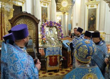 Престольный праздник Гребневской иконы Божией Матери