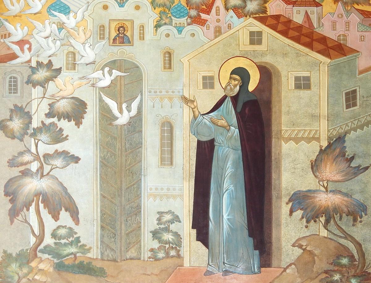 Престольный праздник — Преставление прп. Сергия Радонежского