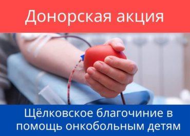 «Щёлковское благочиние в помощь онкобольным детям»